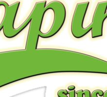 Vape Design Swoosh Vaping Since 2012 Sticker