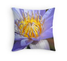 Waterlily II Throw Pillow