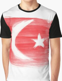 Turkey Flag Istanbul Turk Graphic T-Shirt