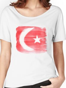 Turkey Flag Istanbul Turk Women's Relaxed Fit T-Shirt