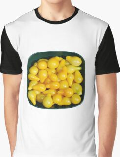 Yellow Tomatoes in Sunlight Graphic T-Shirt