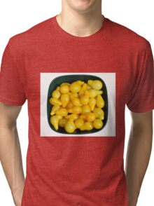 Yellow Tomatoes in Sunlight Tri-blend T-Shirt