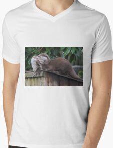 A Good Joke Mens V-Neck T-Shirt