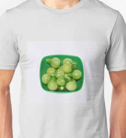Green Tomatoes In Green Bowl Unisex T-Shirt