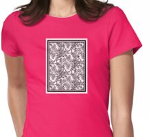 Full Moon Tea Reversed Womens Fitted T-Shirt