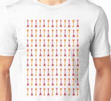 Thousand Arrows (Red & Orange) Unisex T-Shirt