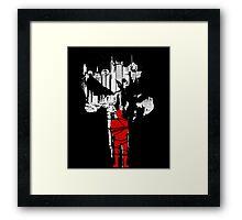 The Devil in chains Framed Print