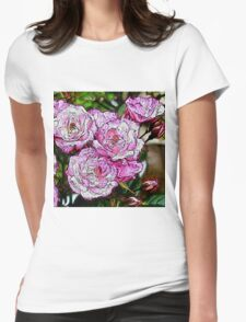 Rose20151001 Womens Fitted T-Shirt