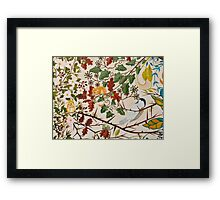 Marsh Tit and Fiedl Mice Framed Print