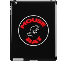 mouse rat, mouse, rat, parks, andy, recreation, tv, show, hipster, dwyer. iPad Case/Skin