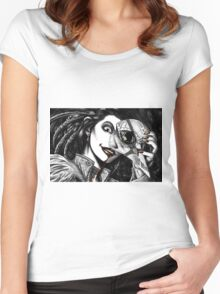 Feathers and Bone Women's Fitted Scoop T-Shirt
