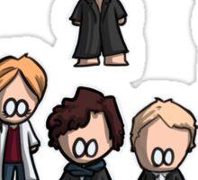 Sherlock characters Sticker