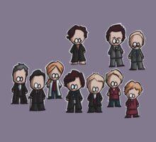 Sherlock characters Kids Tee