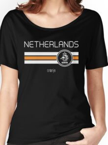 Football - Netherlands (Home Orange) Women's Relaxed Fit T-Shirt