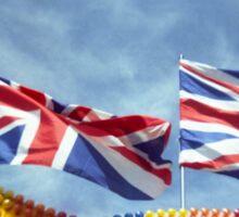 Funfair Flags Sticker