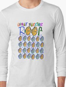 Cartoon fishes on Great Barrier Reef Australia design Long Sleeve T-Shirt