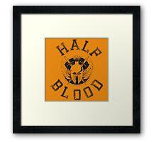Half Blood Framed Print