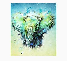 watercolor elephant Unisex T-Shirt