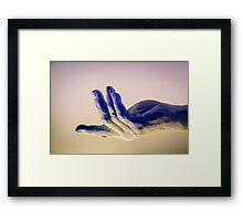 A Hand in the Melk Abbey Museum Framed Print