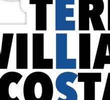 Chelsea spelt using player names Sticker
