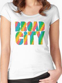 Broad City #2 Women's Fitted Scoop T-Shirt