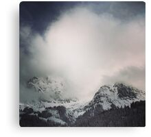 The alps 3 Canvas Print
