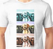 Labrador golden blue red retriever Dog Unisex T-Shirt