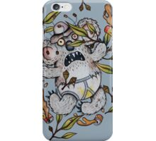 Intoxicated Aussie Drop Bear iPhone Case/Skin