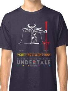 Asgore Dreemurr - Undertale Classic T-Shirt