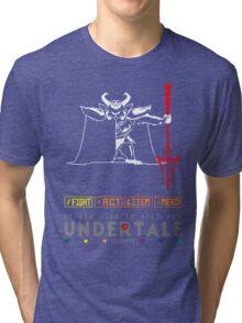 Asgore Dreemurr - Undertale Tri-blend T-Shirt