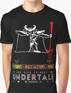 Asgore Dreemurr - Undertale Graphic T-Shirt
