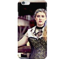 Steampunk airship pilot iPhone Case/Skin