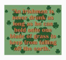 In Irishman Is Never Drunk Kids Tee