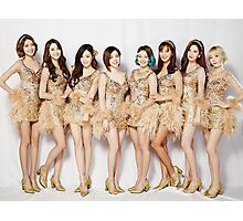 Girls Generation After Performance Photographic Print