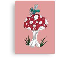 Insect Etiquette Canvas Print