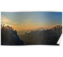 """Wide Saxon Switzerland"" Poster"