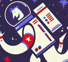 Kid friendly space man Sticker