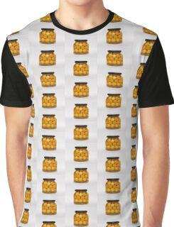 Jar of Yellow Cherry Grappa Preserve Graphic T-Shirt