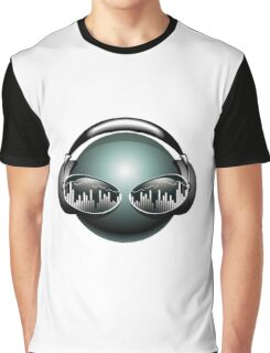 Hot Music Vector Graphic T-Shirt