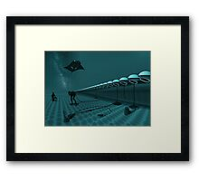 Atomic Jam Framed Print
