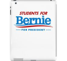 Students for Bernie for President iPad Case/Skin