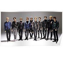 Full Band Exo Poster