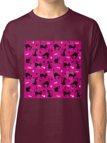 Cute Pink Cats Classic T-Shirt