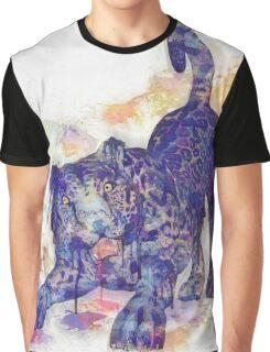 Panther Splash Graphic T-Shirt