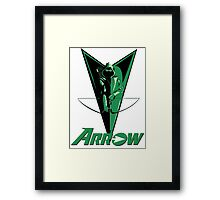 Green Arrow 2 Framed Print