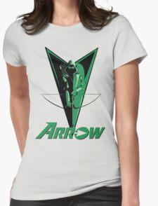 Green Arrow 2 Womens Fitted T-Shirt