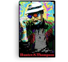 Hunter.S. Thompson.  Canvas Print