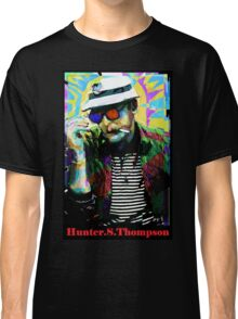 Hunter.S. Thompson.  Classic T-Shirt