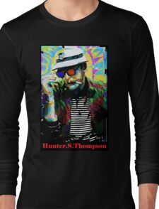 Hunter.S. Thompson.  Long Sleeve T-Shirt