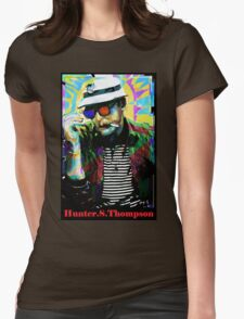 Hunter.S. Thompson.  Womens Fitted T-Shirt